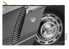 '62 In Black And White Carry-all Pouch by Dennis Hedberg