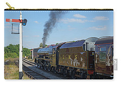 6201 Princess Elizabeth At Swanwick Station Carry-all Pouch