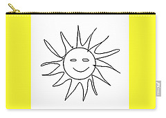 6.57.hungary-6-detail-sun-with-smile Carry-all Pouch