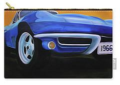 66 Corvette - Blue Carry-all Pouch