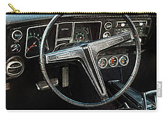 Carry-all Pouch featuring the photograph 68 Chevy Ss 2-door Hardtop by Trey Foerster