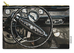 Carry-all Pouch featuring the photograph 68 Ford Mustang by Trey Foerster