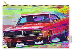 69 Dodge Charger  Carry-all Pouch