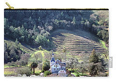 6b6312 Falcon Crest Winery Grounds Carry-all Pouch