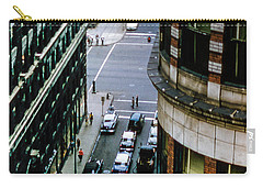 Carry-all Pouch featuring the photograph 6th And Superior - Cleveland by Samuel M Purvis III
