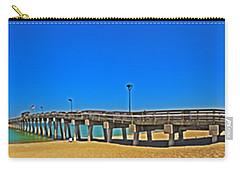 6x1 Venice Florida Beach Pier Carry-all Pouch
