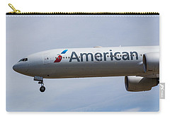 American Airlines Boeing 777 Carry-all Pouch