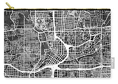 Atlanta Georgia City Map Carry-all Pouch
