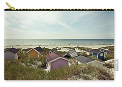 Beach Houses And Dunes Carry-all Pouch