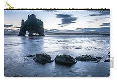 Dinosaur Rock Beach In Iceland Carry-all Pouch