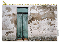 Carry-all Pouch featuring the photograph Door With No Number by Marco Oliveira