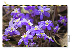 First Spring Flowers Carry-all Pouch