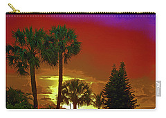 Carry-all Pouch featuring the digital art 7- Holiday by Joseph Keane