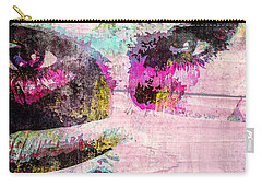 Ian Somerhalder Carry-all Pouch by Svelby Art