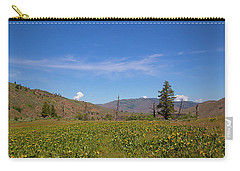 Carry-all Pouch featuring the photograph Idaho Landscape by Dart Humeston