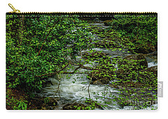 Carry-all Pouch featuring the photograph Kens Creek Cranberry Wilderness by Thomas R Fletcher