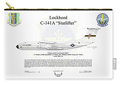 Lockheed C-141a Starlifter Carry-all Pouch by Arthur Eggers