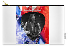 Neil Young Art Carry-all Pouch by Marvin Blaine