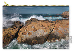 Point Lobos Concretions Carry-all Pouch by Glenn Franco Simmons
