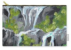 7 Scared Pools Maui Carry-all Pouch