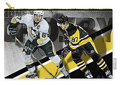 Carry-all Pouch featuring the photograph Sidney Crosby by Don Olea