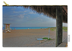 Carry-all Pouch featuring the photograph 7- Southern Beach by Joseph Keane