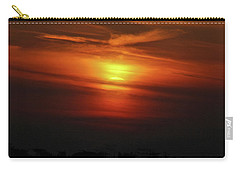 Carry-all Pouch featuring the photograph 7- Sunset by Joseph Keane