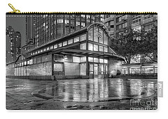 72nd Street Subway Station Bw Carry-all Pouch