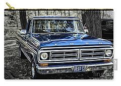 Carry-all Pouch featuring the photograph 73 Ford Pickup by Brad Allen Fine Art