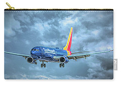 Carry-all Pouch featuring the photograph 737 by Guy Whiteley