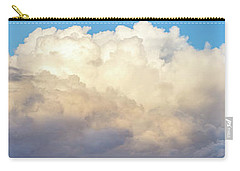 Carry-all Pouch featuring the photograph Clouds by Les Cunliffe