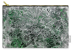 7a Abstract Floral Expressionism Digital Art Carry-all Pouch
