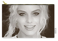 Actress Margot Robbie Carry-all Pouch by Best Actors