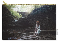 Carry-all Pouch featuring the photograph Aretusa by Traven Milovich