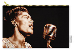 Billie Holiday Collection Carry-all Pouch