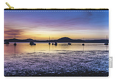 Dawn Waterscape Over The Bay With Boats Carry-all Pouch