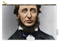 Carry-all Pouch featuring the photograph Henry David Thoreau by Granger