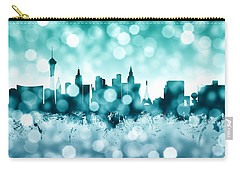 Las Vegas Nevada Skyline Carry-all Pouch by Michael Tompsett