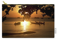 Sunrise On Koh Tao Island In Thailand Carry-all Pouch