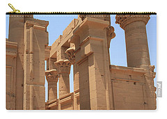 Temple Of Isis Carry-all Pouch