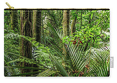 Carry-all Pouch featuring the photograph Tropical Jungle by Les Cunliffe