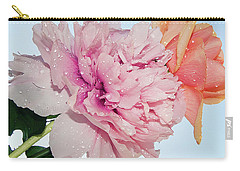 Two Flowers Carry-all Pouch by Elvira Ladocki