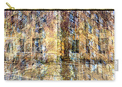Carry-all Pouch featuring the photograph 83rd And Park Collage by Dave Beckerman