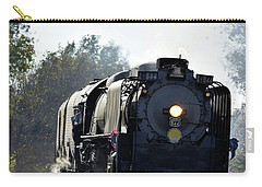 Carry-all Pouch featuring the photograph 844 Head Down The Tracks by Mark McReynolds