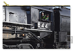 Carry-all Pouch featuring the photograph 844 Steam Locomotive by Mark McReynolds