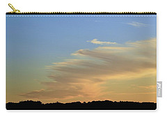 Carry-all Pouch featuring the photograph 8.46 Pm June 3-2016  by Lyle Crump