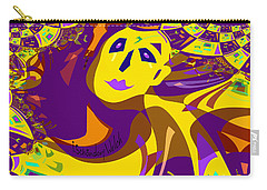 874 - Mellow Yellow Clown Lady - 2017 Carry-all Pouch