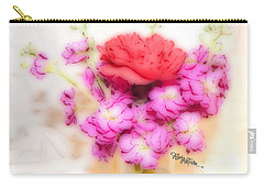 #8742 Soft Flowers Carry-all Pouch