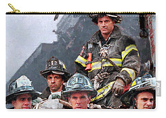 9/11 Firefighters Carry-all Pouch by Kai Saarto