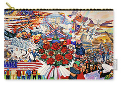 9/11 Memorial Towel Version Carry-all Pouch